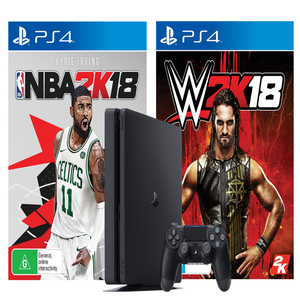Win a PlayStation 4 Console with NBA 2K18 & WWE 2K18