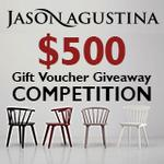Win $500 Jason Agustina Furniture Gift Voucher