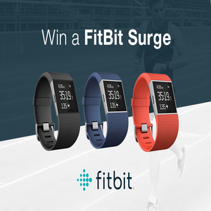 Win a FitBit Surge!