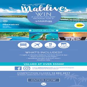 Win a Luxurious Maldives Escape for 2