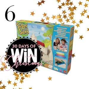 Win a Super Sand Castle Set