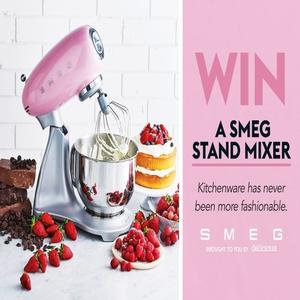 Win A Smeg Stand Mixer