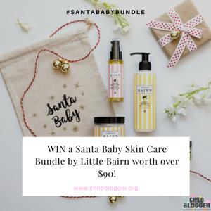 Win A Santa Baby Skin Care Bundle By Little Bairn