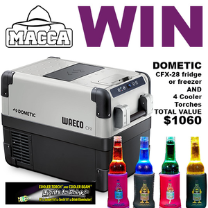 Win a Dometic Fridge and 4 Cooler Torches