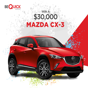 Win a brand new car, luxury holiday, $15,000 cash and more