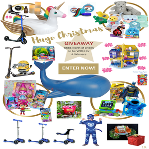 Win 1 of 4 Christmas Prize Bundles