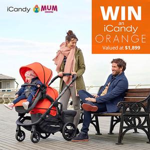 Win an iCandy Orange pram