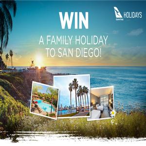 Win a family trip to San Diego