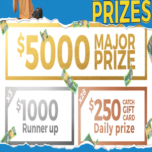 Win a share of $15,000 in cash & prizes