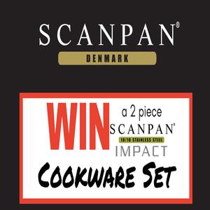 Win a 2-Piece Scanpan Impact Cookware Set