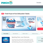 Free 'Finish' Power & Pure dishwasher sample!