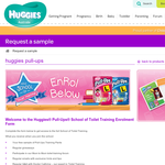 Free Huggies Pull-Ups sample