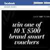 Win 1 of 10 $500 'Brand Smart' vouchers!