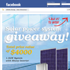 Win 1 of 2 1.5kW Solar Power Systems!
