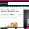 Win 1 of 2 Ella Bache Radiance C Brightening sets!