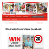 Win 1 of 20 copies of Curtis Stone's new Cookbook!