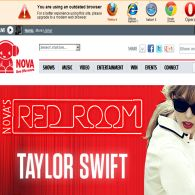 Win 1 of 5 trips to Sydney to see Taylor Swift in Nova's Red Room