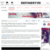 Win 3 pieces from the Mara Hoffman 'Everything But Water' capsule collection + a $250 gift card!