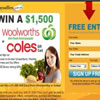 Win a $1,500 Woolworths or Coles Gift Card