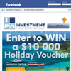 Win a $10,000 travel voucher!