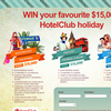 Win a $15,000 Holiday - Pick 1 of 3 options