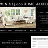 Win a $5,000 home makeover!