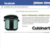 Win a Cuisinart Pressure Cooker Plus