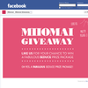 Win a fabulous Miiomai Seduce & Accessory Prize Package