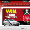 Win a Ford Territory + $250 Eftpos cards to be won daily!