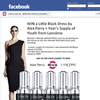 Win a little black dress by Alex Perry & a year's supply of 'Youth' from Lancome!