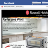 Win a Russell Hobbs 'Perfect Toast' toaster!