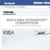 Win a Toshiba Kira Ultrabook!