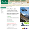 Win a trip for 2 to Everest base camp!