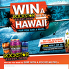 Win a trip to Hawaii for you & a mate + win 1 of 10 Rockstar surfboards!
