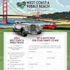 Win a West Coast & Pebble Beach 'Tour D'Elegance' for 2!