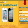 Win an iPhone 4S