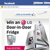 Win an LG Door-In-Door fridge!