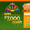 Win your share of $7,000 in cash!