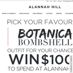 Win $1,000 to spend on Alannah Hill!
