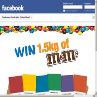 Win 1 of 10 1.5kg M&Ms tins!