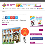Win 1 of 10 Beethoven's Treasure Tail DVDs
