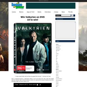 Win 1 of 10 copies of Valkyrien on DVD