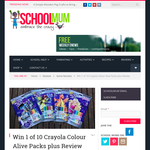 Win 1 of 10 Crayola 'Colour Alive' prize packs!