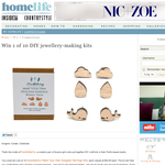 Win 1 of 10 DIY jewellery-making kits!