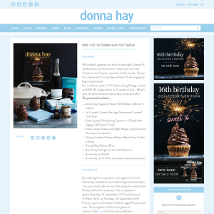 Win 1 of 10 Donna Hay Gift Bags
