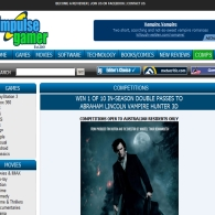 Win 1 of 10 Double Passes to Abraham Lincoln Vampire Hunter 3D