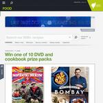 Win 1 of 10 DVD & cookbook prize packs!