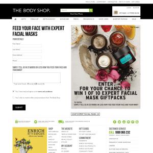 Win 1 of 10 expert facial mask gift packs!