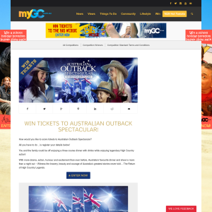 Win 1 of 10 Family Passes to Australian Outback Spectacular