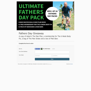 Win 1 of 10 Fathers Day Packs